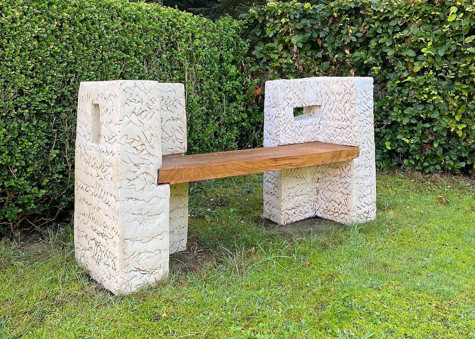 Clay-bench-sculpture-engholm-michelsen-stentoejsler